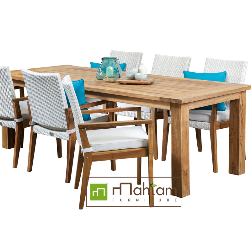 Bar Height Glass Table, Recycled Teak Outdoor Furniture M Ofs08 Recycled Teak Indonesia